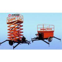 12米二轮牵引式升降平台移动式高空作业车厂家直销