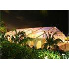 Luxury Clear Top Wedding Tent Clearspan Fabric Structures For Public Activities