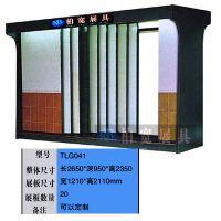 供应柏宽展柜,平拉式双面瓷片展柜,可以放600*800砖,瓷砖展柜