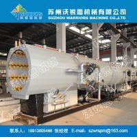 沃锐思PE管材生产线设备 ZDT真空定型箱 PVC管材生产设备辅机