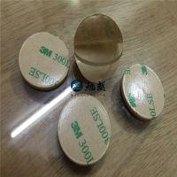 东莞透明PVC胶垫 双面自粘透明垫片 旭朗实力批发