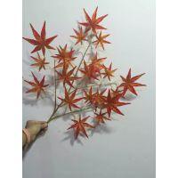 仿真红枫叶 美国红枫叶 日本红枫叶 五爪枫叶 厂家生产定做直销