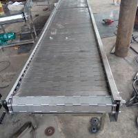 宁津正捷专业生产输送机 食品输送线设备按装 不锈钢链板输送机