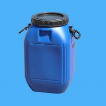北京优质50升食品级塑料桶 50公斤大口化工方桶 耐酸碱塑料桶