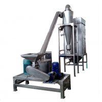 WFJ-20型30型60型干木薯/红薯/葛超微脉冲除尘粉碎机 带水冷 灵灵机械 符合GMP标准