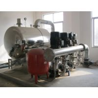 益阳不锈钢方型水箱变频恒压供水设备制作厂家