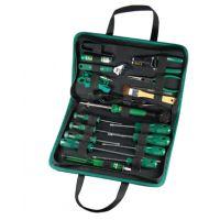 世达19件电脑维修组套 世达工具套装 电工电子电讯组套