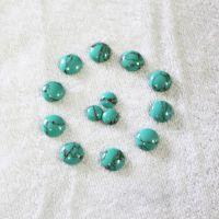 青岛厂家直销绿松石首饰半成品配件饰品半成品批发优质精选松石