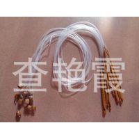 鑫龙编织工具毛衣针 阿富汗地毯钩针带珠钩针 长120CM 12根一套