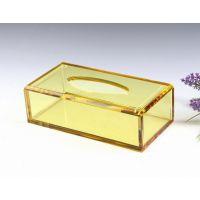 【伙拼】定制新款水晶餐巾盒 水晶欧式抽纸餐巾盒 酒店KTV用品 B