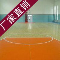 篮球场地专用PVC地板运动场专用塑胶地板健身房专用加厚地胶木纹