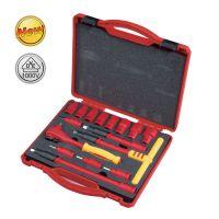 世达工具专卖批发16件10MM系列VDE绝缘套筒组套09268