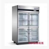 星星/格林斯达四门展示柜SG1.0L4标准款四玻璃门展示柜冷藏保鲜柜