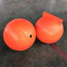 【现货供应】滚塑优质PE塑料浮球 耐老化海上浮球