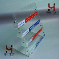 亚克力展示架订做 透明有机玻璃展架 组装活动拆卸药物陈列架