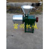 燕麦磨面机 微型磨面机 富兴小麦去皮磨面机
