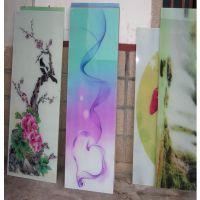 专业承接玻璃门窗彩绘印刷图案 玻璃广告牌uv喷画