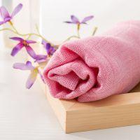 菲苒木纤维毛巾厂家直销,多层纱布舒适透气,天然抗菌纱布童巾,印字加工,25*50cm,35克