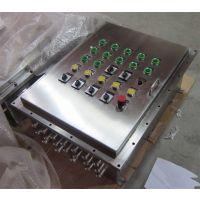 进申BXK8050-G不锈钢防爆控制箱、挂式明装控制箱可非标定做