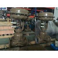 ZMAT气动活塞式隔膜调节阀,上海良工阀门,铸钢气动薄膜隔膜阀
