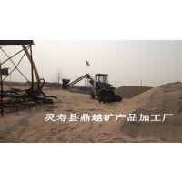 鼎越矿产批发建筑用的水洗河沙 砂浆河沙 型号