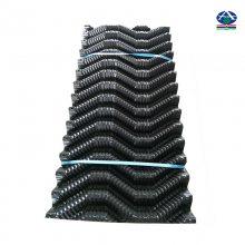 广西桂林水产养殖专用人工蜂巢 像蜂窝似的黑色塑料片 河北华强