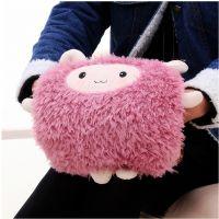 2014新款 可爱嘟嘟羊双插手热水袋/电暖袋 已注水 电暖袋一件代发