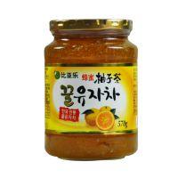 比亚乐蜂蜜柚子茶 韩国原装进口柚子茶570g/罐 水果酱 果味茶饮料