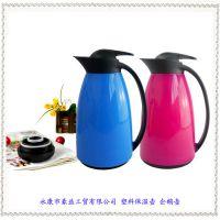 厂家直销企鹅壶 咖啡壶/保温壶 玻璃内胆保温瓶 塑料水壶