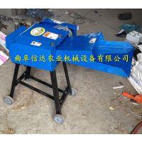 小型青草秸秆揉丝机信达机械厂家 自吸式饲料粉碎机