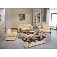 供应广东沙发工厂盈冠家具客厅真皮组合沙发