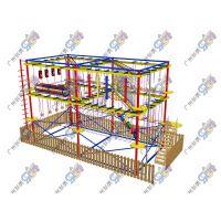 厂家乐宝贝直销大型户外儿童探险拓展设备 体能训练综合素质
