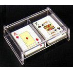 供应透明亚克力包装盒 厂家直销多格型亚克力名片盒 亚克力盒子
