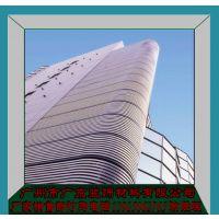 定制建筑铝合金外墙 铝塑板防火幕墙 门头设计造型天花批发