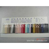富耀公司热销流行编织纹席纹PVC革皮革皮料拉丝纹雨丝纹草席图