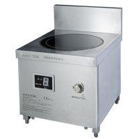 钜兆品牌PT415餐饮厨房设备酒店用品商用大功率电磁炉批发小炒炉汤炉灶维修售后