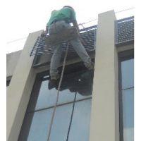 西安玻璃幕墙清洗 西安蜘蛛人清洗 西安天添专业高空清洗