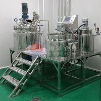 100L平台式真空乳化机 不锈钢真空加热均质乳化机质量保证