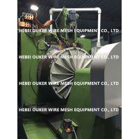 欧科制造,数控楔形丝纯圆绕丝筛管筛网焊机设备V300型,缝隙25微米