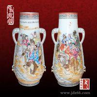 景德镇陶瓷花瓶 高档花瓶礼品定制厂家