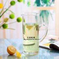 现货小额批发 透明大号玻璃茶具水壶 玻璃凉水壶 冷水壶 饮料壶