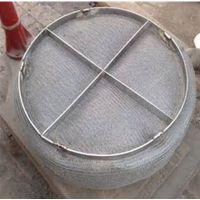 烟囱中的水蒸气变成水与烟气分离 不锈钢丝网除雾器效果好 上善定做 标准型