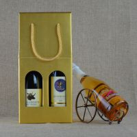 红酒盒礼盒红酒包装盒葡萄酒瓦楞纸盒手提袋红酒纸盒单双支批发