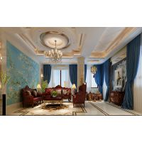 盛和天下别墅装修-哈尔滨麻雀装饰公司高端设计