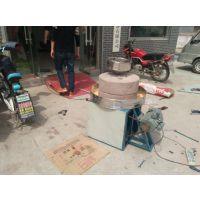 豆浆设备 鼎达供应小型豆浆石磨 早餐店特定米浆石磨