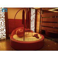 [情趣家具] 酒店宾馆圆-双人水床-情趣电动床-上海漫炫厂家订制