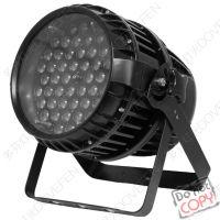 高亮度LED调焦54颗3W三色户外防雨染色PAR灯工厂直销质保三年