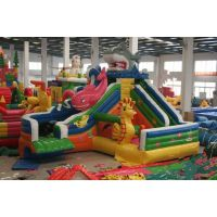 郑州腾龙游乐 充气水滑梯 夏季戏水玩具