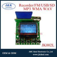 JK002L   usb sd lcd mp3 recorder module fm radio