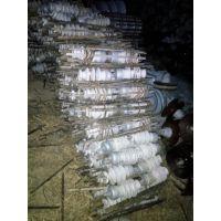 大量回收玻璃瓷瓶 悬式瓷瓶 支柱绝缘子回收 鼎盛电瓷